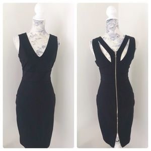 Bebe Zip Back Bodycon Dress